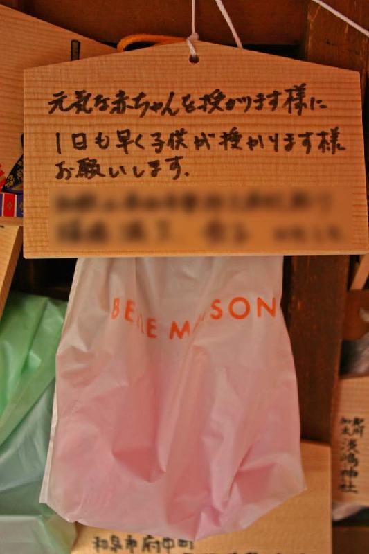 Panty Bag at Awashima Shrine