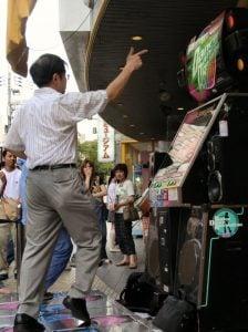 Dancing Oyaji