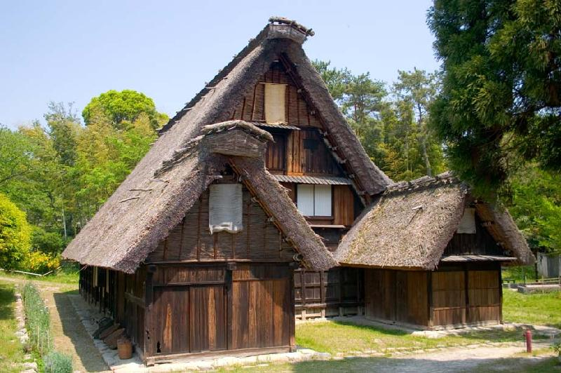 Traditional Japanese Farmhouse