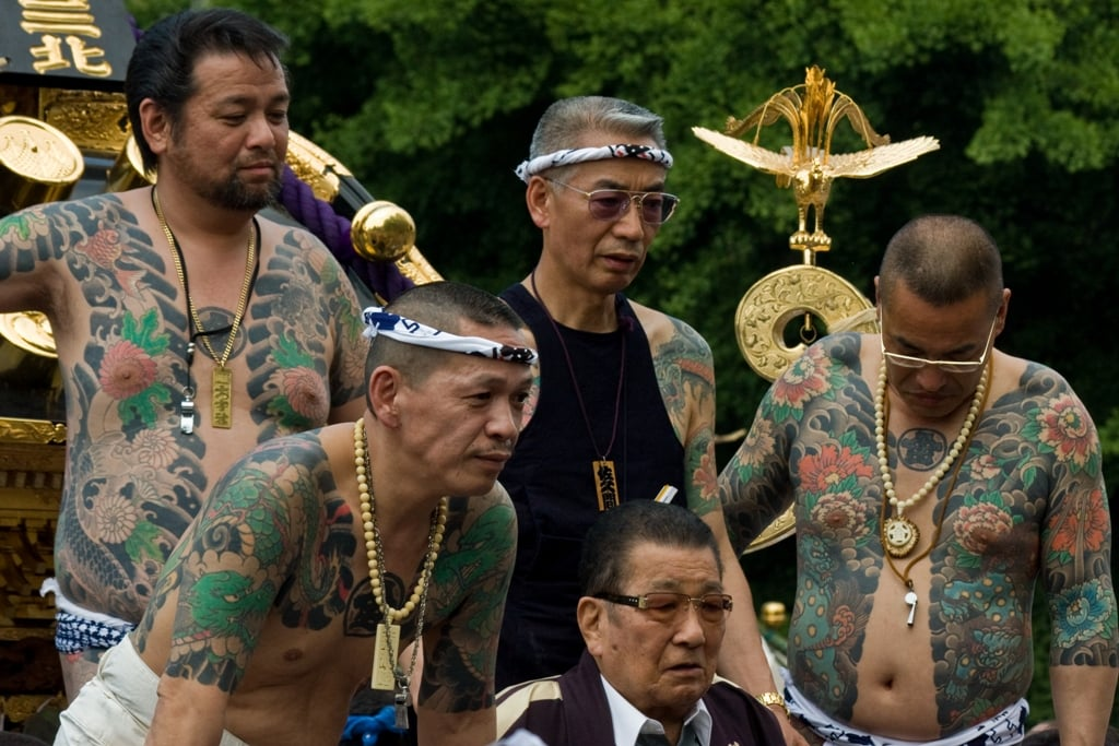 70% of Mikoshi Groups in Sanja Matsuri Controlled by Yakuza