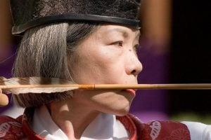 Kyudo Woman