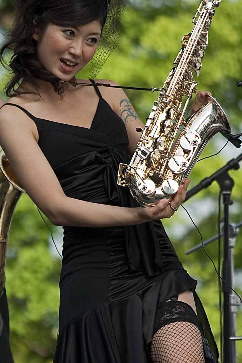 Sexy Saxophonist