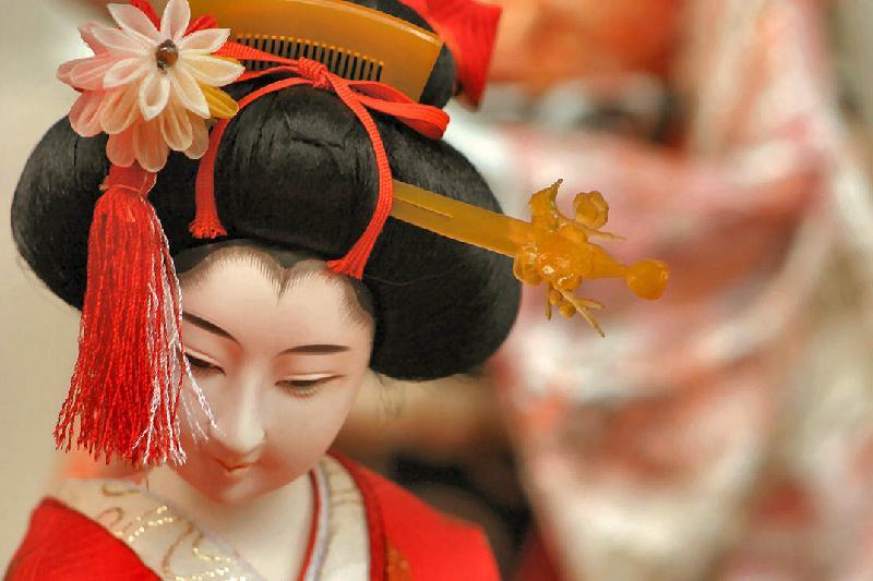 Hina Dolla at Awashima Jinja