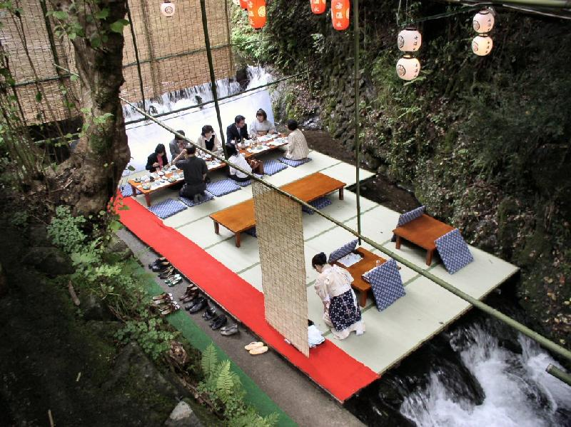 Kawadoko – Riverside Dining to Beat the Heat