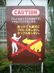 ff - no fighting bears