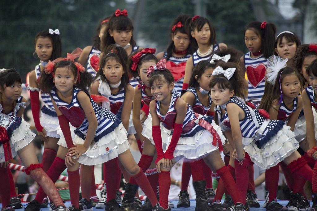 Kids' Dance Festival in Higashi Omiya